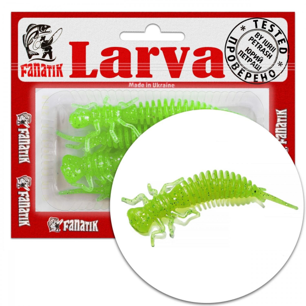 """Fanatik LARVA 1.6 2 2.5 3 3.5 4.5"""" 4cm-11cm Gummiköder Gummifisch Angelköder Jig"""
