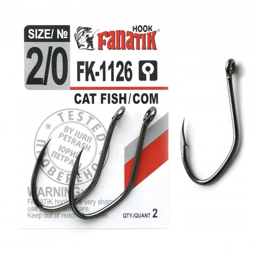 FANATIK Haken FK-1126 WELS CATFISH VHI-Carbon (46 mm - 62 mm)