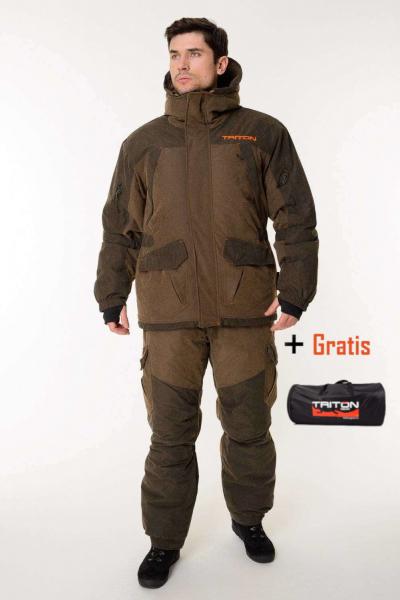 """Jagdanzug """"GORKA -40C°(FINNLAND)""""Herren Winter Superwarm Jagdjacke mit Hose Angelanzug Freizeitanzug"""