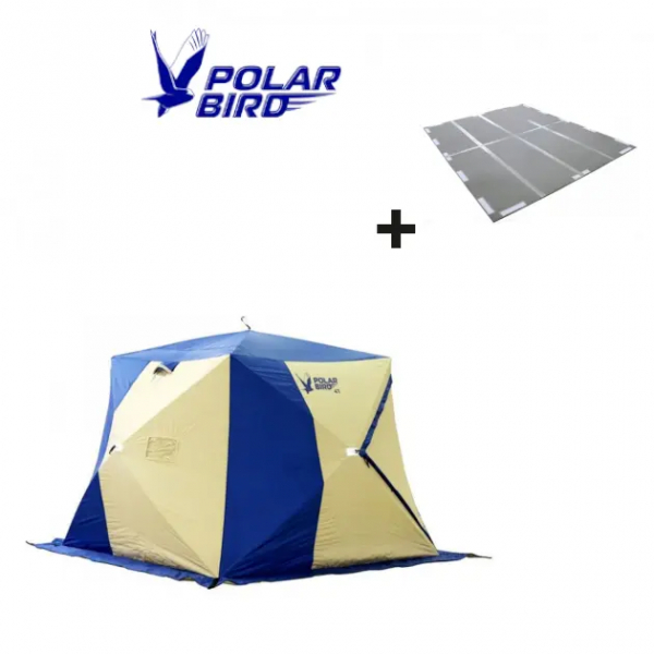 "SET von Polar Bird ""4Т"" (Zelt + Boden )"