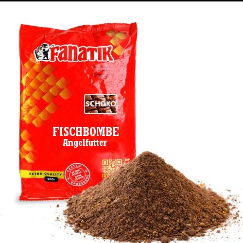 """Angelfutter FISCHBOMBE """"Schokolade"""" Anfutter Lockfutter Allroundfutter Grundfutter Aroma"""