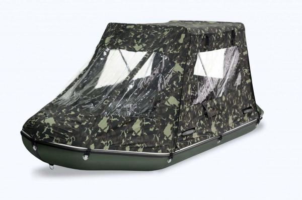 BARK Zelt für Schlauchboote 330 x 160 cm