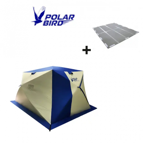 "SET von Polar Bird ""4Т Long"" (Zelt + Boden)"